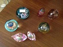 Assortments Of Paper Weights Including Caith Ness