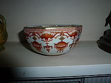 Chinese Porcelain Bowl Highly Decorated 7cm Height