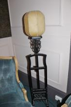 Chinese Carved Standard Lamp