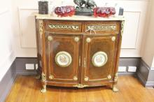 French Louis XV Credenza With Two Door And Two Drawers On Claw Feet 92cm x 115cm x 44cm