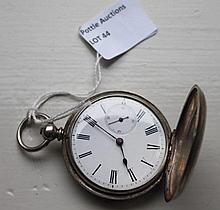 Antique Silver Hall Marked Pocket Watch