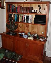 Pine Bookcase 172cm x 150cm