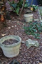 Collection of Outdoor Plant Pots