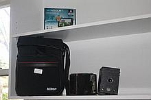 Collection Of Cameras Including Canon
