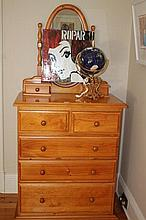 Pine Dressing Table 182cm x 90cm