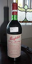 Bottle Of Penfolds Grange Vintage 1971