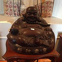 Large Chinese Terracotta Buddha