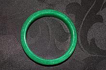 Chinese Jade Emerald Coloured Bangle