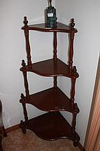 Cedar Four Tier What Not 114cm in Height