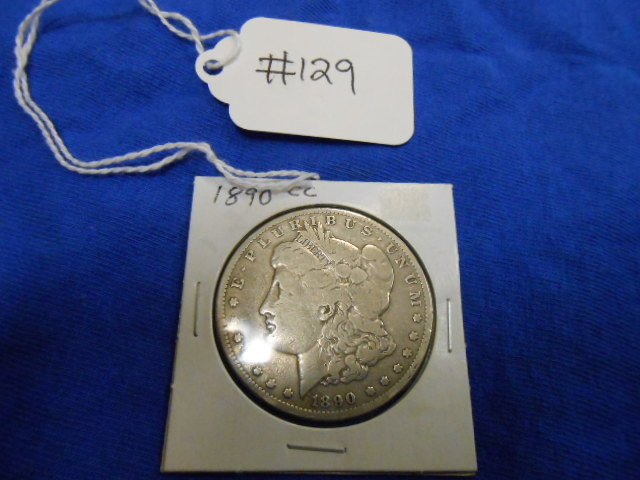1890-CC Morgan One Dollar See Pictures for Details