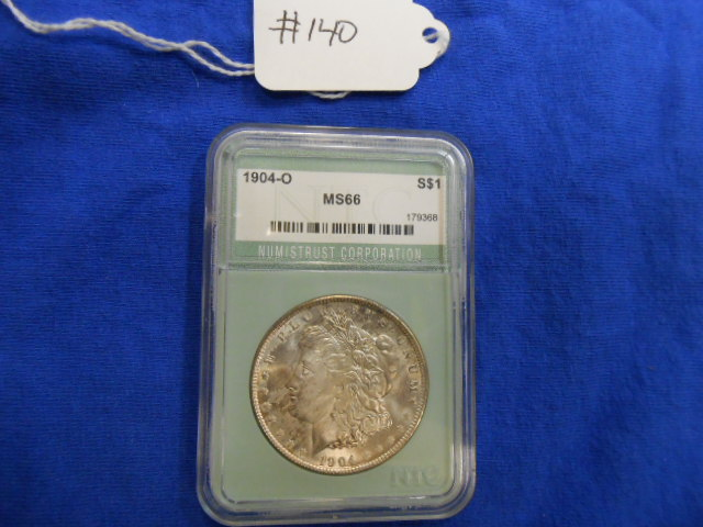 1904-O Morgan One Dollar NTC MS 66