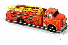 MARX PRESSED STEEL FIRE TRUCK