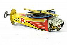1950's TIN HELICOPTER SPARKLER