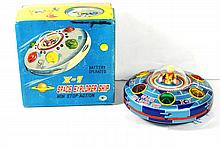 JAPANESE X-7 SPACE EXPLORER SHIP W/BOX