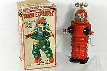 JAPANESE WINDUP MOON EXPLORER