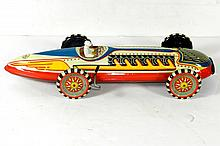 MARX TIN WINDUP STREAMLINE RACER