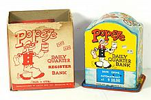 KALON POPEYE DAILY QUARTER BANK W/BOX