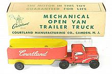 COURTLAND OPEN VAN TRAILER TRUCK W/BOX
