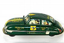 MARX DICK TRACY WINDUP SQUAD CAR