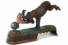 ALWAYS DID SPISE A MULE MECHANICAL BANK