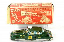 MARX DICK TRACY SQUAD CAR W/BOX