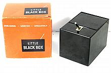 1959 LITTLE BLACK BOX MONSTER BANK W/BOX