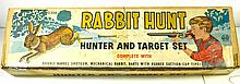 MARX RABBIT HUNT TARGET SET W/BOX