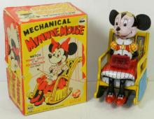 LINEMAR MECHANICAL MINNIE MOUSE W/BOX