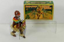 PANGO-PANGO WINDUP AFRICAN DANCER W/BOX