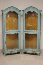 Pair of Jasper Furniture Co. Cabinets.