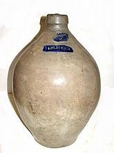 I.M. Mead Ovoid Form 3 Gallon Stoneware Jug