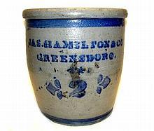 Jas. Hamilton & Co. Greensboro Cream Pot