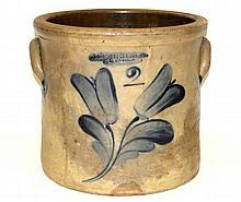 J. Fischer Co. & Lyons Decorated Stoneware