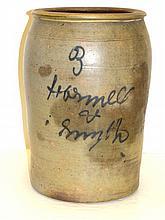 Advertizing 3 Gallon Stoneware Crock