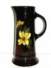 American Pottery 11'' Tankard Attributed To Weller