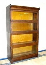 Quarter Sawn Oak Stacking Bookcase