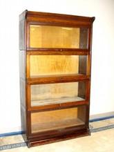 Quater Sawn Oak Four Stack Bookcase