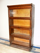 Quarter Sawn Oak Four Stacking Bookcase