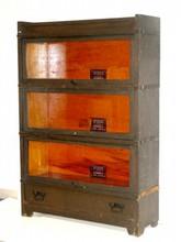 Mission Oak Quarter Sawn Stacking  Bookcase