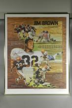 Jim Brown Signed Limited Edition Poster