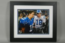 Manning Brothers Signed Photo