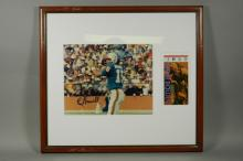 Miami Dolphins Super Bowl Quarterback Earl Morrall Signed Photo