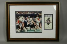 Chicago Bears Signed Super Bowl Photo