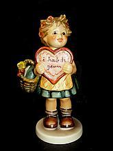 Hummel Figurine 387 Valentine Gift