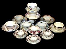Collection Of 12 Early Handle less Cups