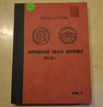 Book of Jefferson Head Nickels