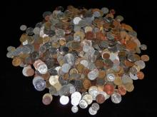 8 lbs of unsearched foreign coins