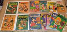 Lot of  Walt Disney Silver and Bronze age Comic's