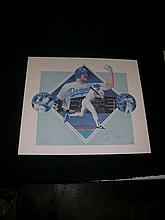 Kirk Gibson Signed Lithograph Print