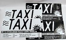 In the Blood Taxi Cab Props